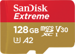 SanDisk Extreme microSDHC 128GB 160MB/s A2 V30