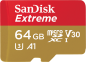 Mobile Preview: SanDisk Extreme microSDHC 64GB 160MB/s A2 V30