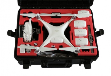 "DJI Phantom 4 ""CrystalySky  Edition"" - Premium Outdoor Case"