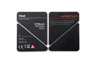 DJI Inspire Battery Insulation Sticker TB48 Part 51
