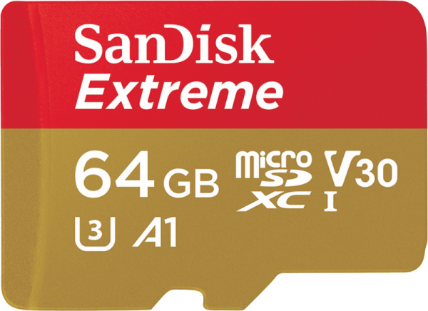 SanDisk Extreme microSDHC 64GB 160MB/s A2 V30